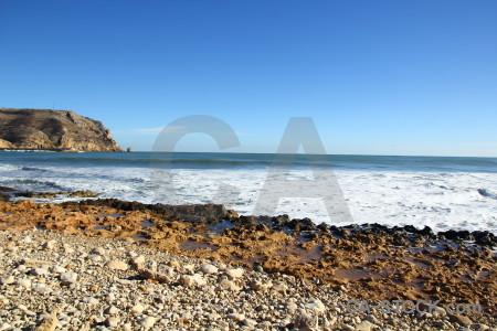 Wave spain water europe javea.