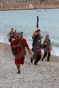 Weapon fiesta moors sea water.