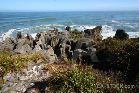 West coast punakaiki limestone new zealand dolomite point.