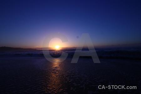 West coast sky beach sunrise sunset.