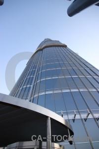 Western asia building burj khalifa skyscraper middle east.
