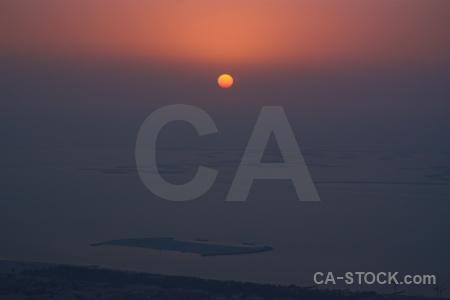 Western asia burj khalifa dubai sunrise middle east.