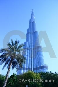 Western asia burj khalifa sky building skyscraper.