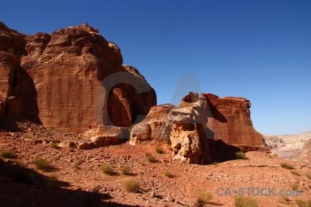 Western asia cliff jordan nabataeans rock.