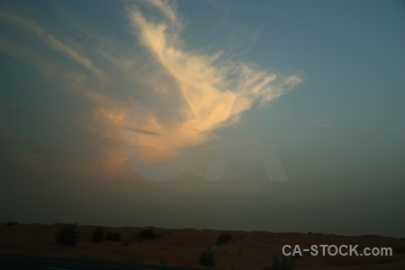 Western asia cloud sand middle east sky.