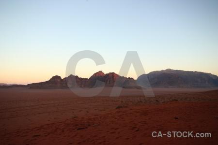 Western asia desert bedouin sky jordan.