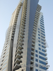 Western asia dubai marina uae skyscraper.
