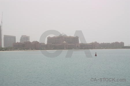 Western asia emirates palace sea water uae.