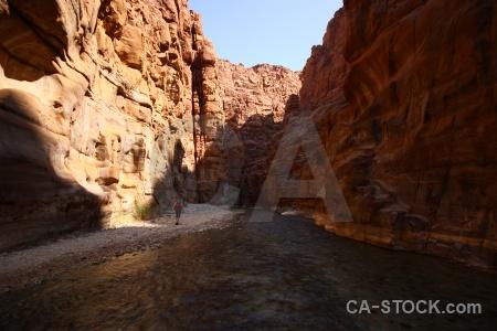 Western asia gorge mujib wadi middle east.