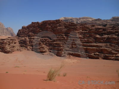 Western asia middle east wadi rum sky sand.