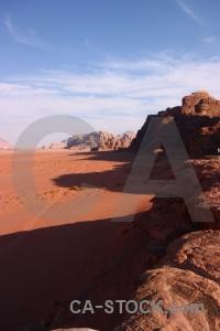 Western asia sand mountain jordan wadi rum.