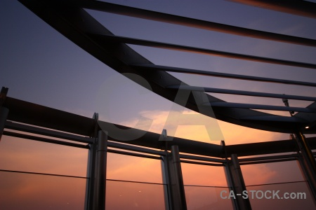 Western asia sunrise sky burj khalifa sunset.