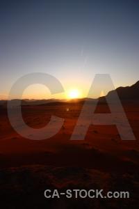 Western asia sunset landscape sky sun.