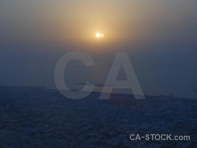 Western asia water aerial burj khalifa sea.
