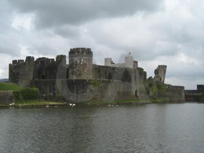White building castle.