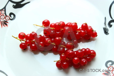 White fruit red berry food.