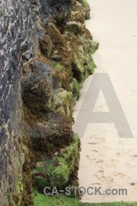 White green cliff rock.