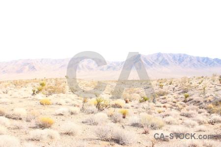 White landscape desert mountain.