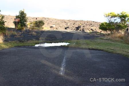 White lava green volcanic.