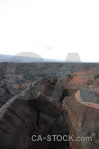 White lava volcanic.