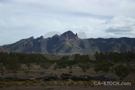 White mountain.