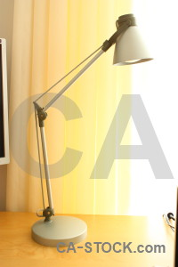 White object orange lamp yellow.