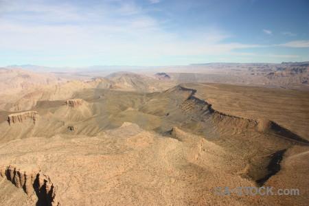 White rock mountain desert landscape.