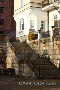 White stair step.