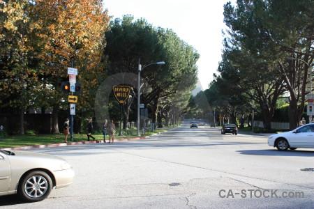 White street.