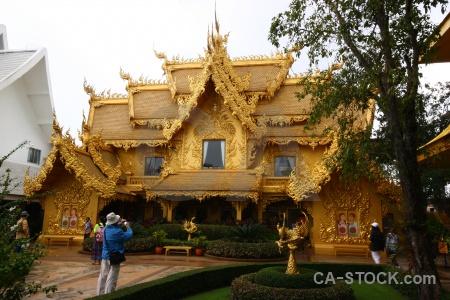 White temple thailand chiang rai asia southeast.