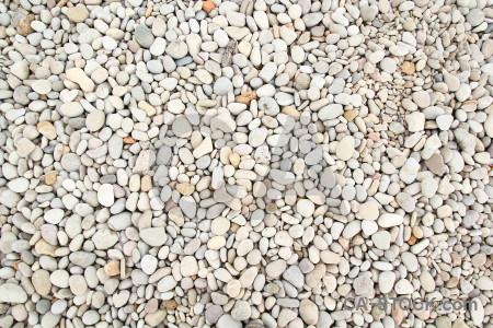 White texture gravel stone.
