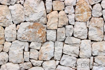White texture stone.