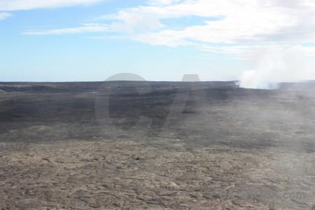 White volcanic.