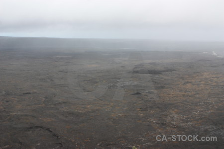 White volcanic gray landscape crater.