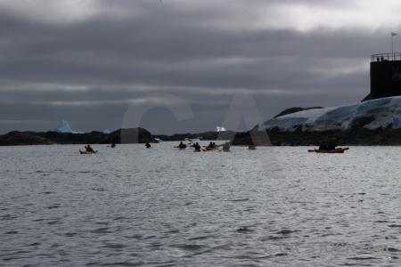 Wilhelm archipelago ice building antarctica cruise water.