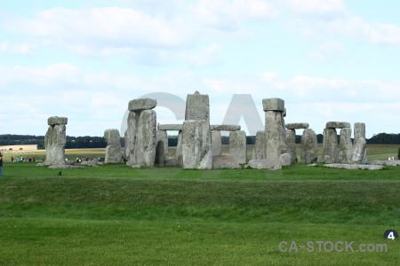 Wiltshire rock england stonehenge europe.