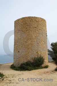 Windmill brown europe els molins javea.