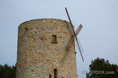 Windmill spain els molins europe javea.