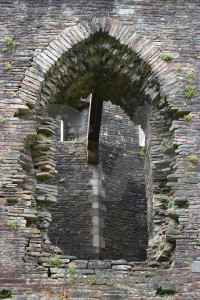Window castle building.