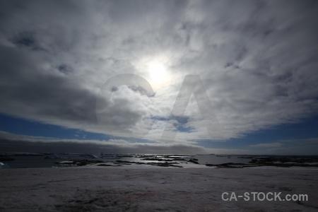 Winter island argentine islands sky antarctica water.