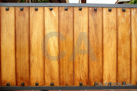 Wood texture plank gate brown.