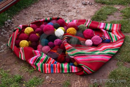 Wool andes peru altitude color.