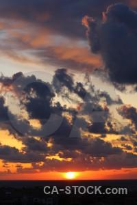 Yellow sunset spain sunrise javea.