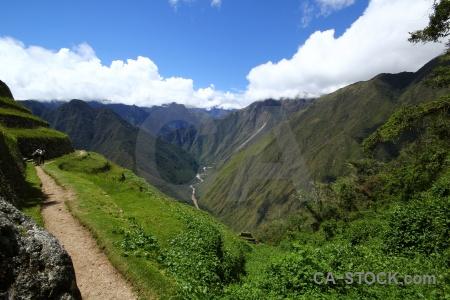 Yunkapata cloud intipata landscape peru.